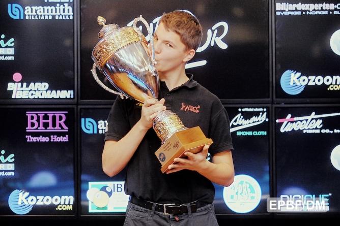 Dynamic Billard Treviso Open – Zielinski vince a 16 anni